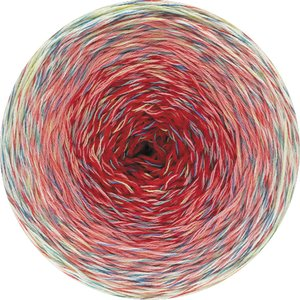 Hilo de algodón Cake Twisted Summer Shades Lana Grossa 200 g Color 1104