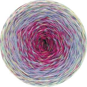 Hilo de algodón Cake Twisted Summer Shades Lana Grossa 200 g Color 1105