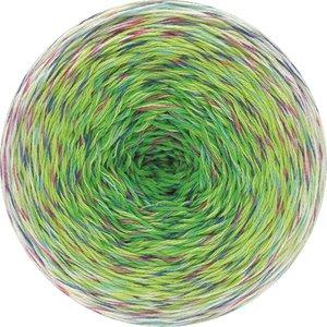 Hilo de algodón Cake Twisted Summer Shades Lana Grossa 200 g Color 1106