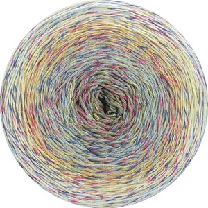 Hilo de algodón Cake Twisted Summer Shades Lana Grossa 200 g Color 1107