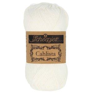 Hilo de algodón Scheepjes Cahlista 106 Snow White