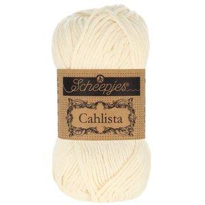 Hilo de algodón Scheepjes Cahlista 130 Old Lace