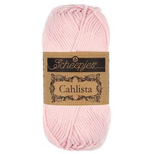 Hilo de algodón Scheepjes Cahlista 238 Powder Pink