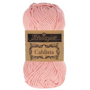 Hilo de algodón Scheepjes Cahlista 408 Old Rose