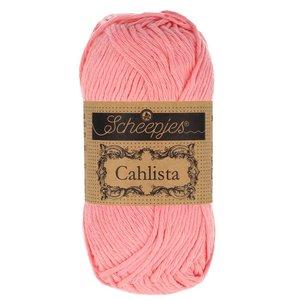 Hilo de algodón Scheepjes Cahlista 409 Soft Rose