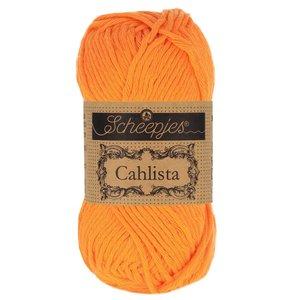 Hilo de algodón Scheepjes Cahlista 281 Tangerine