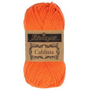 Hilo de algodón Scheepjes Cahlista 189 Royal Orange