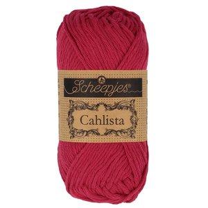 Hilo de algodón Scheepjes Cahlista 192 Scarlet