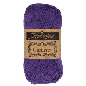 Hilo de algodón Scheepjes Cahlista 521 Deep Violet