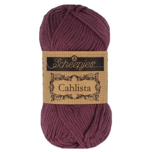Hilo de algodón Scheepjes Cahlista 394 Shadow Purple