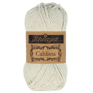 Hilo de algodón Scheepjes Cahlista 172 Light Silver