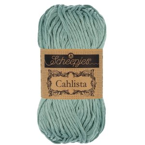 Hilo de algodón Scheepjes Cahlista 528 Silver Blue