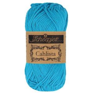 Hilo de algodón Scheepjes Cahlista 146 Vivid Blue