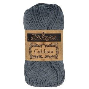 Hilo de algodón Scheepjes Cahlista 393 Charcoal