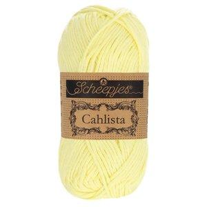 Hilo de algodón Scheepjes Cahlista 100 Lemon Chiffon