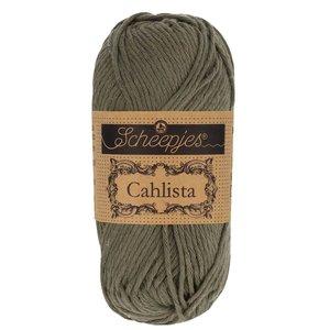 Hilo de algodón Scheepjes Cahlista 387 Dark Olive