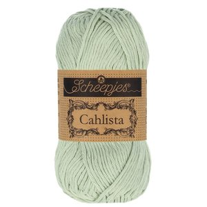 Hilo de algodón Scheepjes Cahlista 402 Silver Green