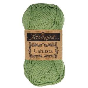 Hilo de algodón Scheepjes Cahlista 212 Sage Green