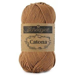 Hilo de algodón Scheepjes Catona 50 g 503 Hazelnut