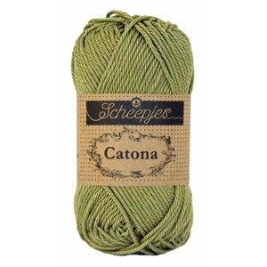 Hilo de algodón Scheepjes Catona 50 g 395 Willow