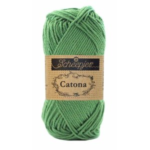 Hilo de algodón Scheepjes Catona 50 g 412 Forest Green