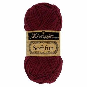 Hilo de algodón Scheepjes Softfun 2637 Mahogany
