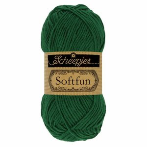 Hilo de algodón Scheepjes Softfun 2643 Pine