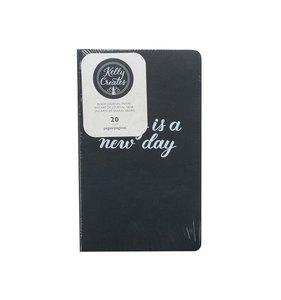 Cuaderno para midori de hojas negras