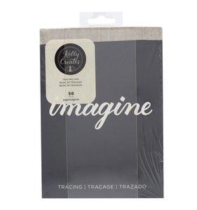 Bloc de papel de trazado ultra suave para rotuladores Travel size