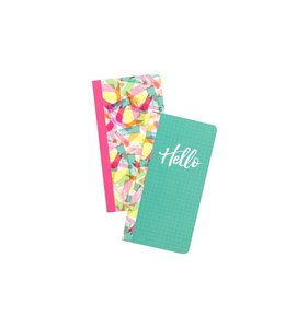 American Crafts Journal Studio Inserts Hello 2 pk