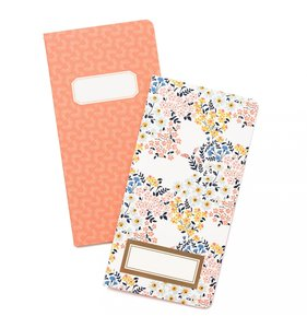 Crate Paper Journal Studio Inserts Floral 2 pk