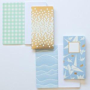 Set 2 cuadernos tamaño personal Carrotcake Origami
