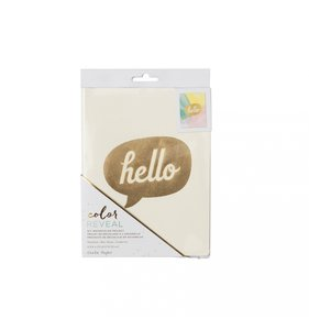 Cuaderno Hello Color Reveal