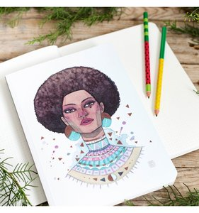 Cuaderno Loretta punteado Esther Gili