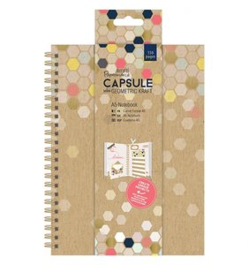 Cuaderno Capsule Geometric Kraft