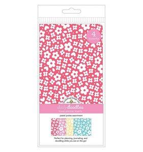 Set 4 cuadernos para midori Doodlebug Pastel Possies