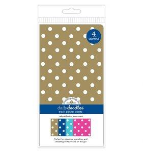 Set 4 cuadernos para midori Doodlebug Adorable Dots