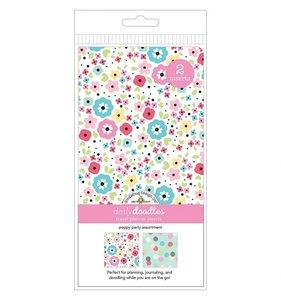 Set 2 cuadernos para midori Doodlebug Poppy Partyots