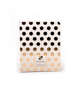 Cuaderno Moment Maker Gold Dots