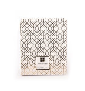 Cuaderno Moment Maker Gold Geometric