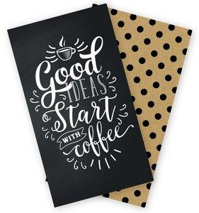 Cuadernos para Midori pag. Rayadas Coffee