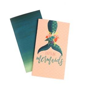 Cuadernos para Midori pag. Rayadas Mermaid