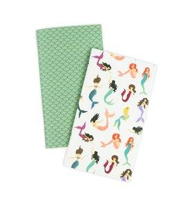 Cuadernos para Midori pag. Calendario Diario Mermaid