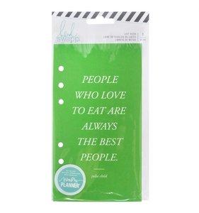 Cuaderno para planner personal Food