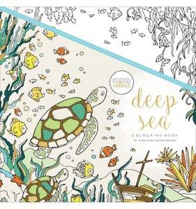 Libro de colorear Deep Sea