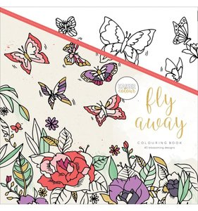 Libro de colorear Fly Away