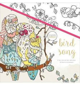 Libro de colorear Bird Song