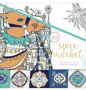 Libro de colorear Spice Market