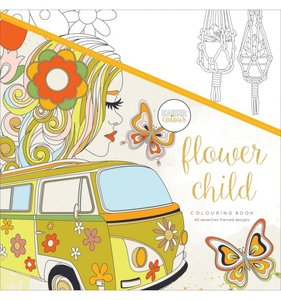 Libro de colorear Flower Child