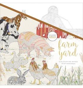 Libro de colorear Farm Yard